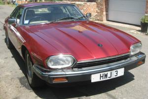 Jaguar XJS Coupe 4.0 Auto on Private plate HWJ 3