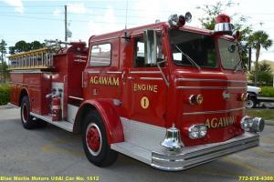 1966 Maxim Fire Truck Equipment Included! 3208 Caterpillar Engine 5-Speed
