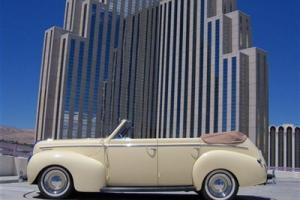1940 Mercury Sedan Convertible