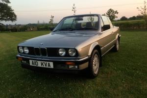 1987 E30 BMW 325i Convertible