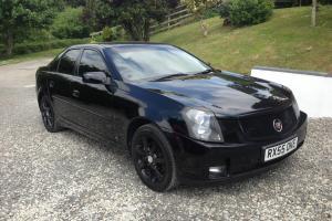 2005 CADILLAC CTS V6 BLACK