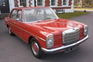 1972 MERCEDES 220 AUTOMATIC RED STUNNING CONDITION THROUGHOUT SUPERB INVESTMENT