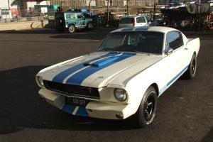 1965 Ford Mustang Fastback GT350 restomod tribute car