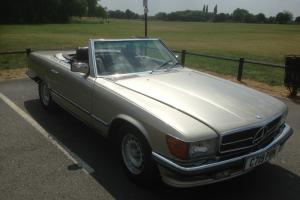 1985 Mercedes-Benz R107 500SL