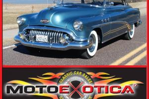 1952 BUICK SPECIAL RIVIERA TWO DOOR HARDTOP, NICELY RESTORED