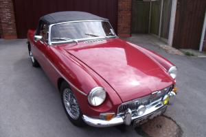 Stunning 1967 MGB Roadster... great spec includes overdrive to 3rd