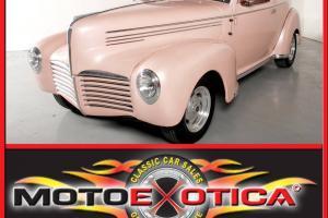 1940 HUDSON CUSTOM HOT ROD , 350 CI , AUTO , A/C , PEARL PEACH , FUN TO DRIVE, Photo