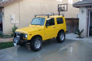 1988 Suzuki Samurai Hartop
