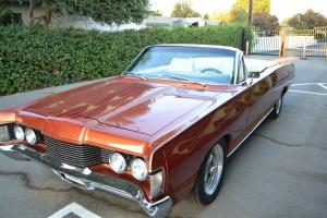 1968 MERCURY MONTEREY CONVERTIBLE CUSTOM SHOW CAR