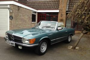 1983 MERCEDES 380 SL AUTO BLUE