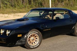 1981 Pontiac Trans Am Chev 350 V8 Engine, TH-350 Transmission, Posi-Trac Rear