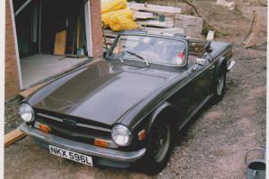 TRIUMPH TR6 1972 SIERRA BROWN CLASSIC CAR