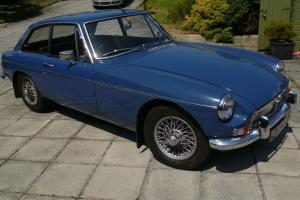 1968 MG B GT BLUE