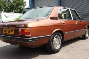 BMW E12 1976 520i 31000 miles, 1 owner, No reserve,loss of storage forces sale.