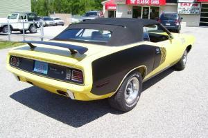 1970/71 Cuda Convertable, Rotisserie Restoration, Best of the Best, Hemi, 4speed