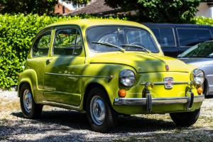 1965 FIAT 600 LHD, registered in UK 12 months MOT