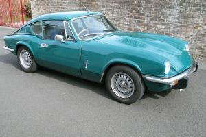 Triumph GT6 Mk 3 Tax Free