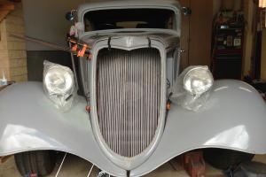 1934 Ford Tudor Restoration Hotrod Ratrod NOT Holden Chev Monaro