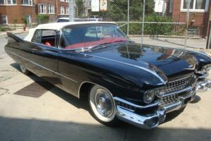 """1959 Cadillac  Series 62 Convertible """"black beauty"""""""