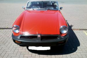 1975 MGB Roadster with overdrive - restored