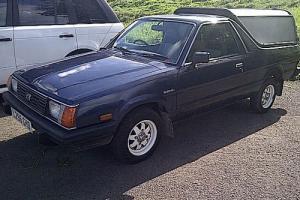 Subaru 284 4WD PICK UP