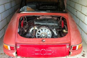 Porsche 911 T Targa 1971 classic restoration project