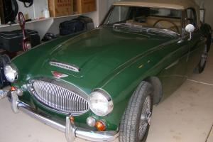 Austin Healey 3000 Mark III BJ8, One Owner, Low Mile, California  rust free car