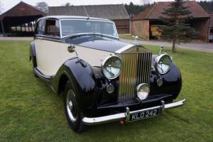 classic 1949 Rolls Royce Silver Wraith