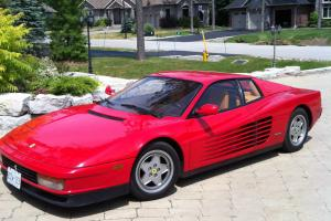 1990 Ferrari Testarossa Base Coupe 2-Door 4.9L
