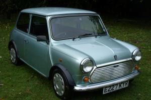 1987 AUSTIN MINI MAYFAIR GREEN