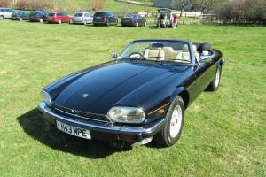 Jaguar XJ-S / XJS Convertible V12 - stunning condition with massive history file