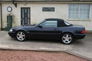 2000 Mdl Mercedes SL320 Black,Final(W129) Facelift V6,low miles,Convertible