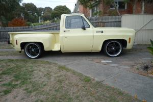 Chev 1978 C10 Step Side Right Hand Drive in Barwon, VIC