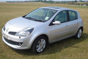 2006 RENAULT CLIO INITIALE SILVER