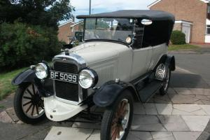 WILLY OVERLAND Tourer Model 92 1922 Right hand drive