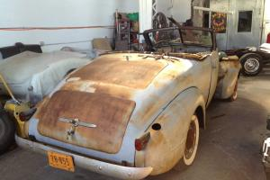 1937 LaSalle Convertible Roadster Project for Sale or Trade!