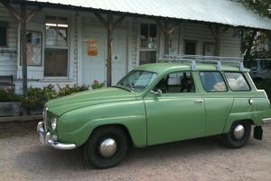 1967 Saab Wagon Model 95 V4