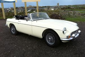 1969 MGB Roadster 1800cc With Overdrive