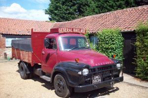 Bedford J Type 3.5 ton diesel tipper