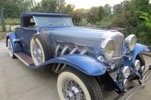1932 Duesenberg ( Murphy Roadster Replica )  Cord Auburn 1931 1935 Horch Benz