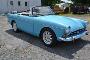 SUNBEAM TIGER Mark 1A Orig 260 V8--Nice Driver, Rare Light Blue  Very Cool Car