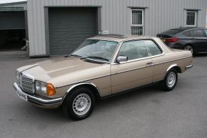1985 MERCEDES 280CE W123 Pillarless Coupe