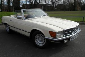 Mercedes-Benz SL500 Auto Convertible 107 Series 1981/W