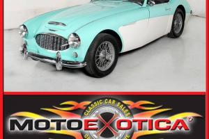 1956 AUSTIN HEALEY 100-6 , BEAUTIFUL RESTORATION, FUN TO DRIVE ,KNOCK OFF WIRES