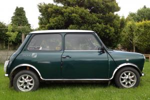 Rover Mini Racing Green Flame Checkmate Special Edition VERY GOOD CONDITION