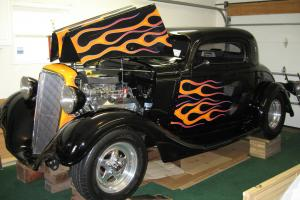 1934 Pro Streeted 3 Window Coupe Photo