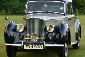 1950 BENTLEY Mark VI Blue/Silver  Photo