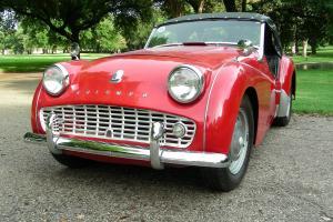 1962 Triumph TR3B Base 2.1L
