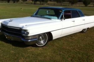 Cadillac Deville 1963 NOT Chev Buick Pontiac RAT ROD