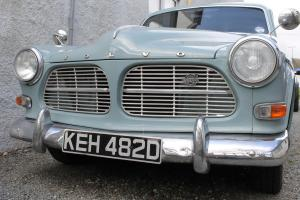 VOLVO Amazon 4 door Manual overdrive powder blue Tow Bar great condition